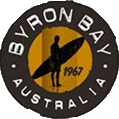 logo van Byron Bay lotion